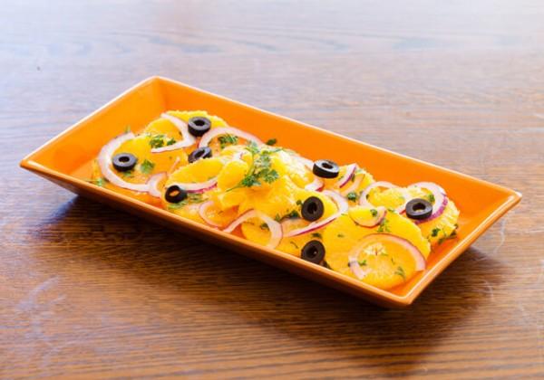 シチリア風オレンジのサラダ