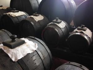 バルサミコの樽