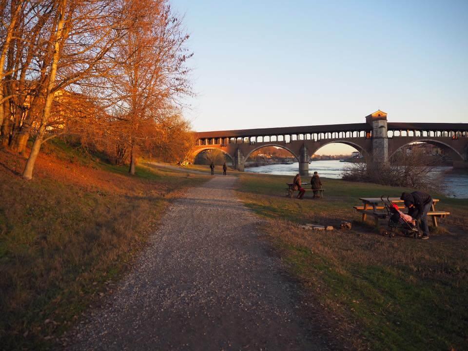 長い歴史のあるコペルト橋は1944年の空爆で破壊され再建されました。