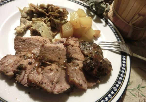 豚肩肉の柔らかオーブン焼き