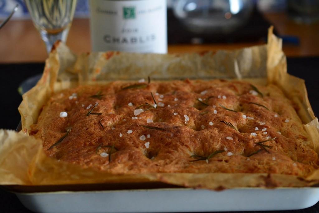 エンマ―小麦のローズマリーフォカッチャ