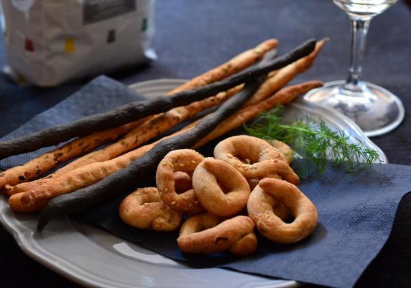 エンマー小麦のグリッシーニ