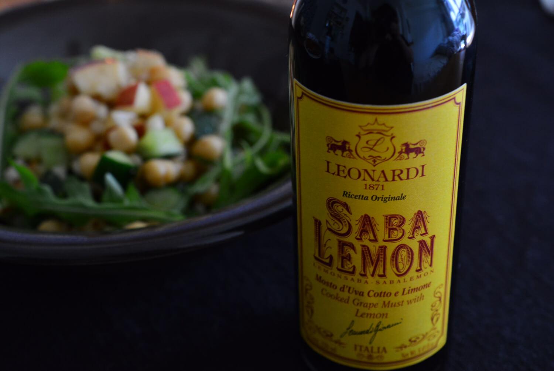 ひよこ豆とツナ、きゅうりのサラダ サバレモンドレッシング