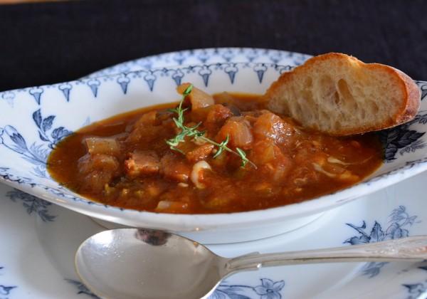完熟トマトと野菜の無水スープ