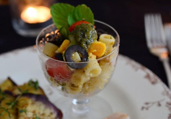 トゥベッティのサラダ バジル風味