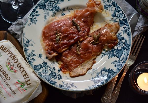 豚肉のサルティンボッカ