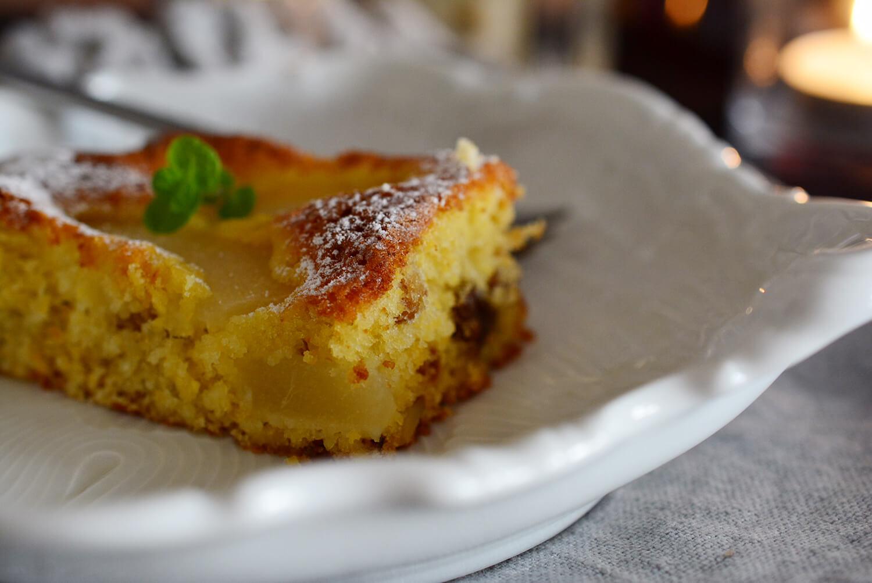 洋梨の簡単ケーキ