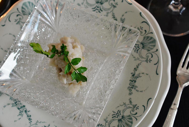 里芋のマッシュサラダ